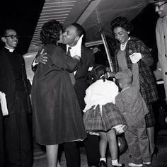 Martin Luther King jr. and Coretta Scott King
