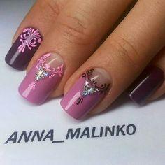 Nails art, дизайн ногтей, гель лак, маникюр