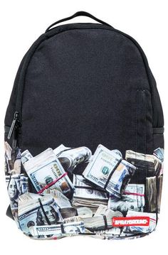 Money, money, monaaayyyyyy!! @Sprayground Money Rolled Backpack #GiftsMadeEasy #ShopKarmaloop http://ow.ly/FOn9l