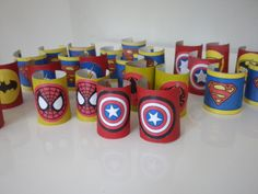 Manchettes super-héros Superhero Birthday Party, Boy Birthday Parties, Diy For Kids, Crafts For Kids, Monster Cupcakes, Craft Party, Painting For Kids, Happy Day, Party Themes