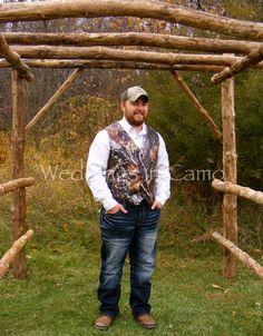 Men's Camo Vest ALL COLORS Custom Made