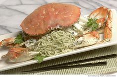 Sfgate's crab and garlic noodle recipe. Must try.