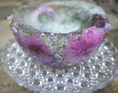 Flower ice-bowl