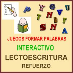 DIFICULTADES LECTORAS: Juegos para formar palabras (Recopilación)