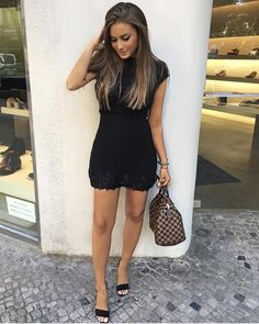 Angelina lilienne Hot Outfits, Girly Outfits, Pretty Outfits, Casual Outfits, Casual Attire, Pretty Hairstyles, Straight Hairstyles, Girl Fashion, Fashion Outfits