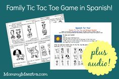 Free Download: Family Tic Tac Toe Plus Audio