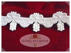 Handmade Silicone Fondant Mouldnew Lace Mold 632 -- Check out the image by visiting the link.