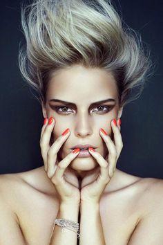 Beauty Fotos, Beauty Make-up, Beauty Shoot, Hair Beauty, Beauty Nails, Vogue Beauty, Editorial Hair, Beauty Editorial, Editorial Fashion