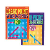 Big Print Find-A-Word Puzzle Books, 112-Page