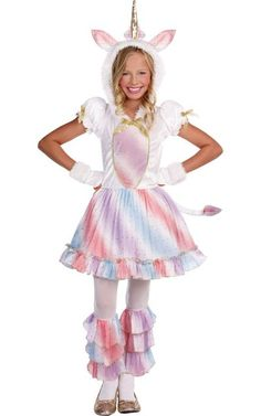 Take a look at this Rainbow Enchanted Lil' Unicorn Dress-Up Set - Girls by Frightfully Fun: Halloween Costumes on today! Unicorn Halloween Costume, Halloween Costumes For Girls, Girl Costumes, Halloween Ideas, Google Halloween, Onesie Costumes, Homemade Halloween, Adult Halloween, Halloween 2018