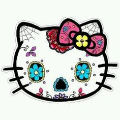 This is my hello kitty tattoo