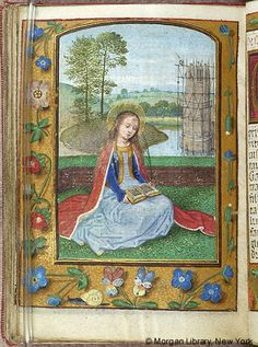 Book of Hours, MS M.451 fol. 127v - Images from Medieval and Renaissance Manuscripts - The Morgan Library & Museum