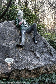 The Oscar Wilde Memorial In Merrion Square (Dublin) by infomatique, via Flickr