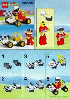 Town - GO-KART [Lego 6400]