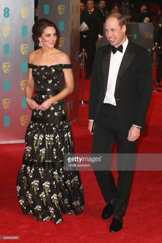 Catherine, Duchess of Cambridge and Prince William, Duke of Cambridge attend the 70th EE British Academy Film Awards (BAFTA) at Royal Albert Hall on February 12, 2017 in London, England.