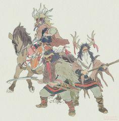ghibli-collector: Sanzoku no Musume Ronja (Ronia... - 中継点