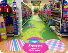 Easter Floor Graphics Installed by Ruck Retail Solutions    www.ruck.ltd.uk