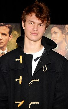 ANSEL ELGORT (CALEB PRIOR) ok, although i dont like most of the cast i have to say he is the perfect caleb and i love caleb so at least they got him right