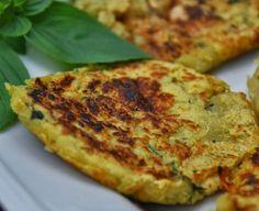 Cantinho Vegetariano: Bolinho de Batata-Doce e Manjericão (vegana)