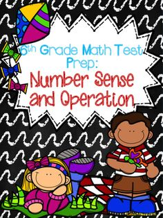 The printables in this file were created for a test prep/review assignment to use in my classroom.   My test prep items are aligned with the Oklahoma PASS objectives for 6th grade.  They might be appropriate for 5th grade students and even 7th graders as a review.This review contains 6 ready to go printables over the following concepts:*Comparing/Ordering Decimals*Fractions, Decimals, Percents*Multiply/Divide Fractions*Multiply/Divide Decimals*Operation with Integers*Exponents
