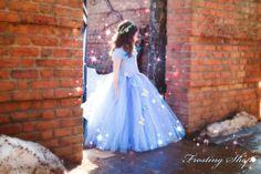 NEW Cinderella Inspired Tutu Dress by FrostingShop on Etsy