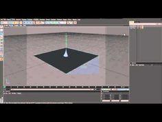 Cinema 4D Rain Tutorial - YouTube