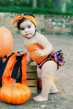 Little ones like to celebrate Halloween the entire month of October. We have some of the cutest little bloomers you have ever seen.