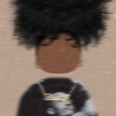 Creative Profile Picture, Best Profile Pictures, Profile Pictures Instagram, Cartoon Profile Pictures, Black Cartoon Characters, Black Girl Cartoon, Black Girl Art, Black Aesthetic Wallpaper, Black Girl Aesthetic