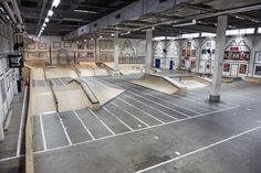 Skate Park, Basketball Court, Interior, Indoor, Interiors