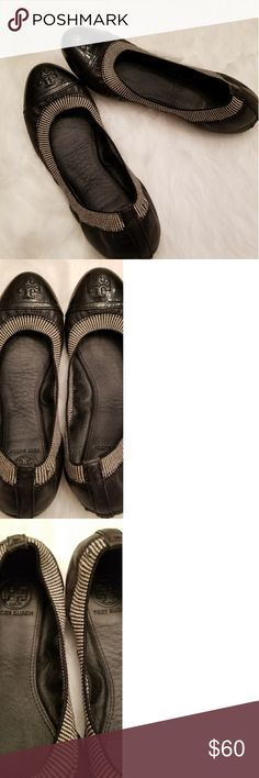 Authentic Tory Burch Gabby Flats Size 7 Authentic Tory Burch Gabby Flats Size 7.  In good condition. Tory Burch Shoes Flats & Loafers