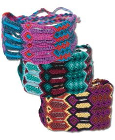 SoulFlower-NEW! Funky Friendship Bracelet-$10.00  I had so many of these as a kid.  Loved them!