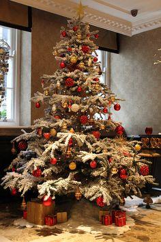 Christmas Tree at Flemings