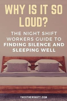 LOUD NOISES! Not a welcomed thing when you're trying to sleep during the day. Sunlight also plays tricks on the brain, telling it to wake up when you've just spent the last 12 hours on the job and desperately want some quality sleep. So here's your resource to block out night shift noise and recharge those batteries to maximum level when daytime sleeping. | struggling to sleep | night shift help | reduce noise in apartment | bedroom for good sleep |#blackoutcurtains #daytimesleep Working Night Shift, Night Shift Nurse, Third Shift, New Nurse, Trying To Sleep, Relentless, Snoring, Good Sleep, How To Stay Healthy