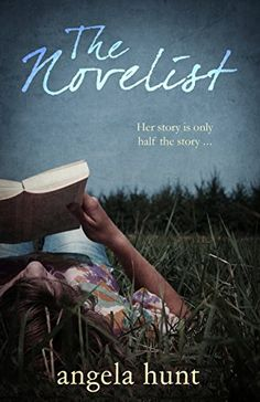 The Novelist by Angela Hunt http://www.amazon.com/dp/B016IPL3KG/ref=cm_sw_r_pi_dp_qxzjwb0QXDD9Q - Departing from her usual adventure type books, Jordan starts to write a story that allows her to merge her faith for the first time, something she had always been reluctant to pursue.