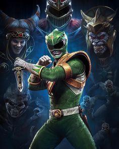 Comic Art, Character Design, Art, My Arts, Power Rangers Fan Art, Green Power Ranger, Cartoon, Cartoons Comics