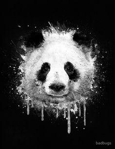 #panda #watercolor #art