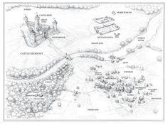 map of rangers apprentice