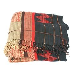 Burmese tribal blanket