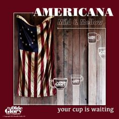 Like coffee that is Mild and Mellow?? Try our Signature Blend Americana! Order today!! http://shop.oldeglorycoffee.com/products