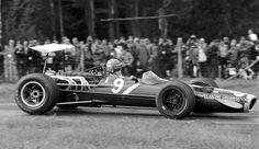 1968 Watkins Glen Owen Racing Organisation BRM P138 Bobby Unser