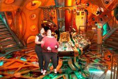 Me and mate inside Matt Smith's TARDIS