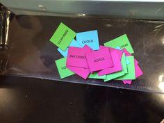 Maestra Fantana: Analisi grammaticale...in un bel percorso a ostacoli!