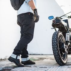 The Saint Model 1 motorcycle jeans—an unusually good mix of style, protection and comfort.