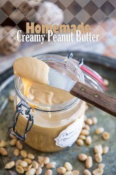 Homemade Creamy Pean