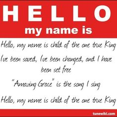 """""""Hello, My Name Is"""" by Matthew West Song Quotes, Faith Quotes, Bible Quotes, Best Quotes, Bible Verses, Christian Songs, Christian Quotes, I Love Music, Love Songs"""