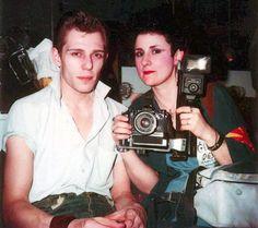 1980 Jenny Lens Paul Simonon de The Clash