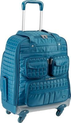 First-class luggage. No matter where you're headed, this quilted carry-on bag from Lug keeps you ultra-organized--and stylish, too! Based on the best-selling Pu Carry On Luggage, Luggage Sets, Rolling Bag, Travel Accessories, Jumper, Stuff To Buy, Type 3, Lust, Birthday Cards