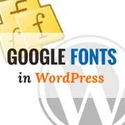 Step by step guide on how to add Google Web Fonts in WordPress themes the right way. Tips for performance optimization of Google web fonts.