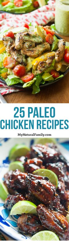 All the Paleo chicken recipes on this post look so good. I want to try them all!