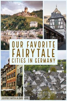 Scenes from fairytale towns in Germany are on our pin, because Germany fairytale towns are a magical experience. We brought together travel writers and locals to pick the prettiest cities in Germany, and the top fairytale towns in Germany. Europe Destinations, Europe Travel Tips, European Travel, Travel Guides, Travel Goals, Travel Hacks, Euro Travel, Passport Travel, Travel Cup